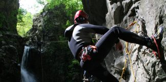 Canyoning in Herculane area