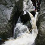 canyoning at Tasna canyon – Herculane area
