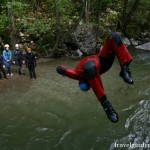 jumps at Cerna river