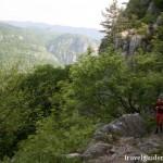 trail in Domoglet National Park – Romania