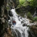 waterfall at Ramnuta canyon