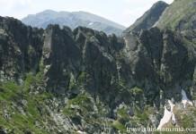 closed gates ridge in Retezat Mountains