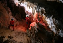 Caving in Romania