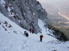 mountaineering in Piatra Craiului Mountains
