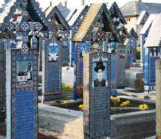 merry cemetery in maramures Romania