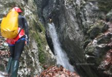 Canyoning in Romania