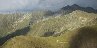 Highest mountains in Romania