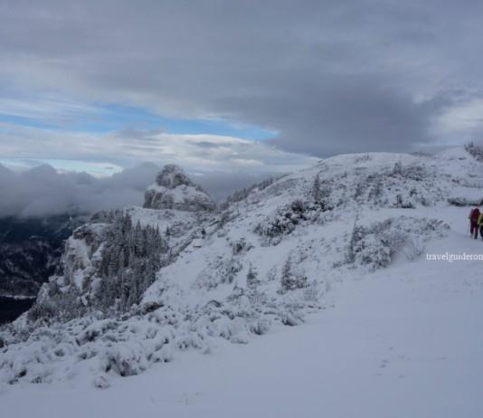 Trekking in Ceahlau Mountains Romania