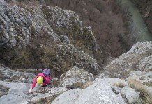 Via ferrata routes in Romania