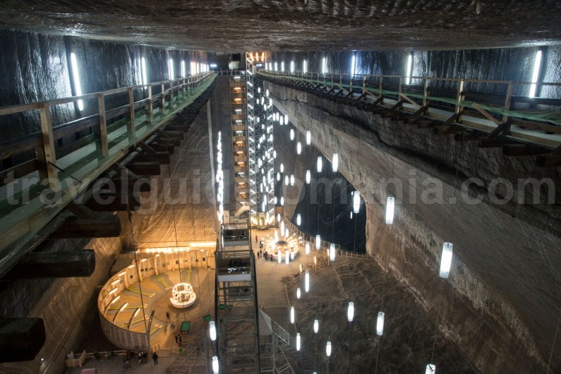 Guided trips in Turda Salt Mine - Romania