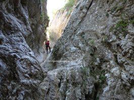 Canyoning in Transylvania