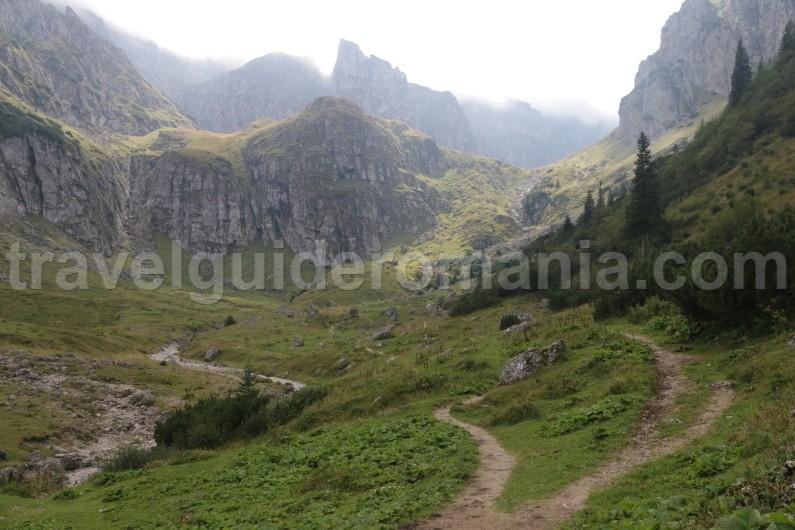 Mountain guide in Romania