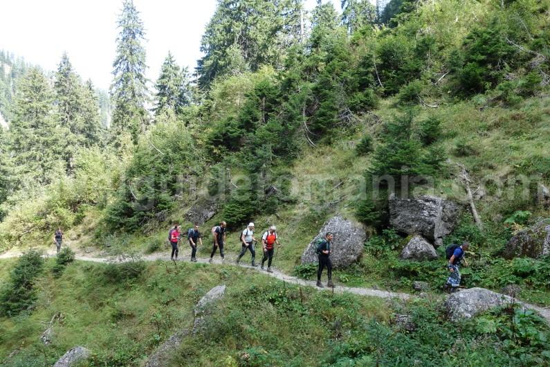 Hiking trips in Bucegi mountains