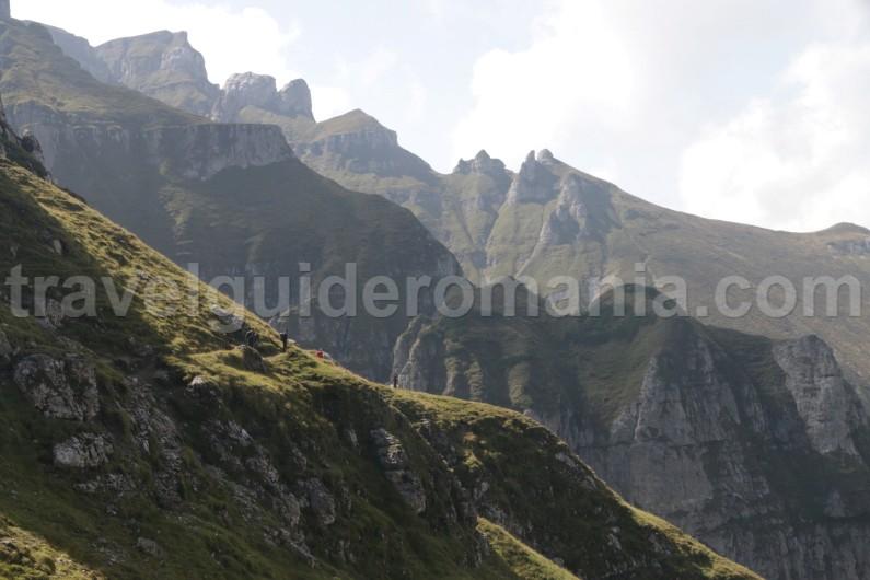 Weekend trip in Bucegi mountains
