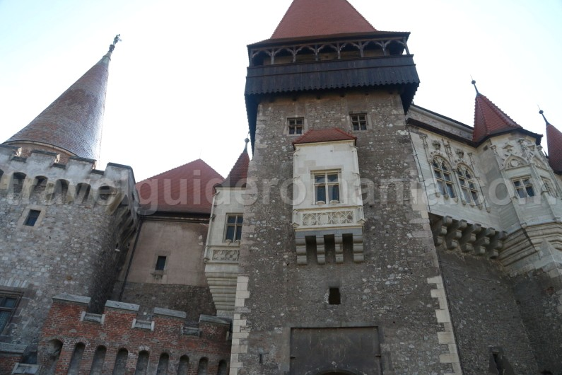 Corvin Castle from Hunedoara Romania