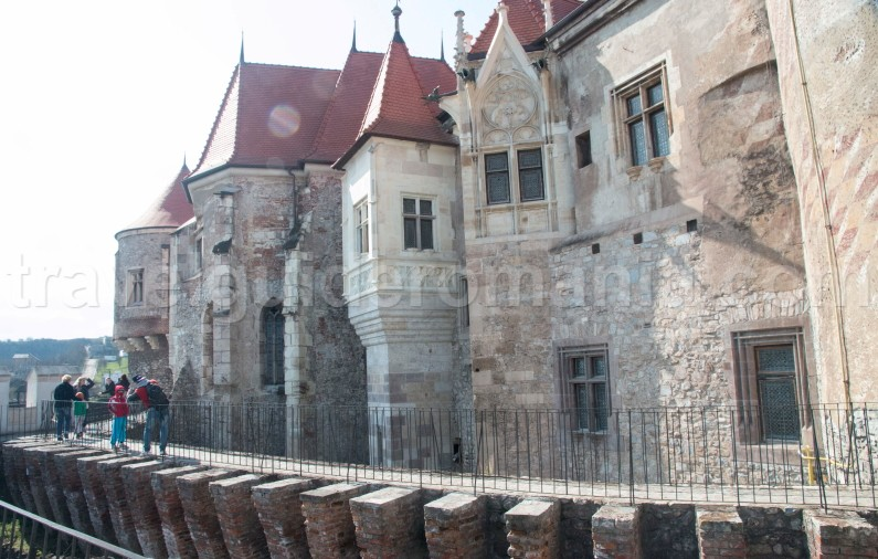Famous medieval architecture in Romania