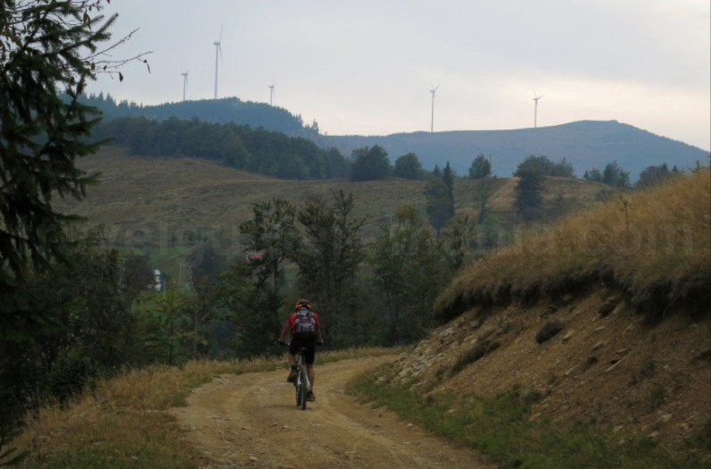 Places to see with the mountain bike