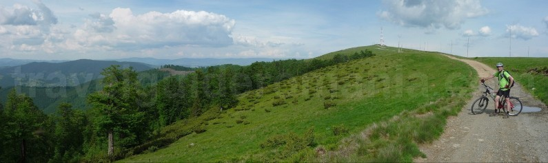 Best mountain biking trips in Romania
