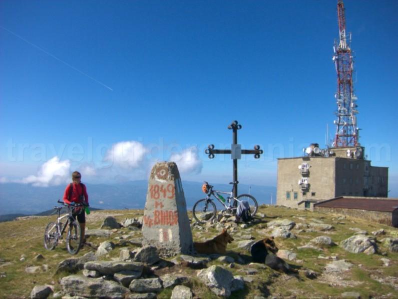 Mountain biking Vartop area