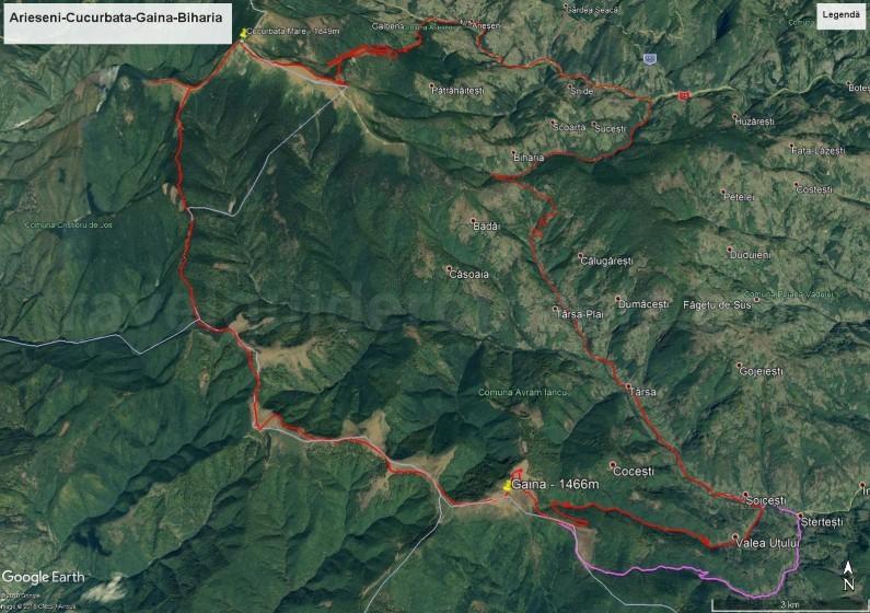 Mountain biking in Apuseni
