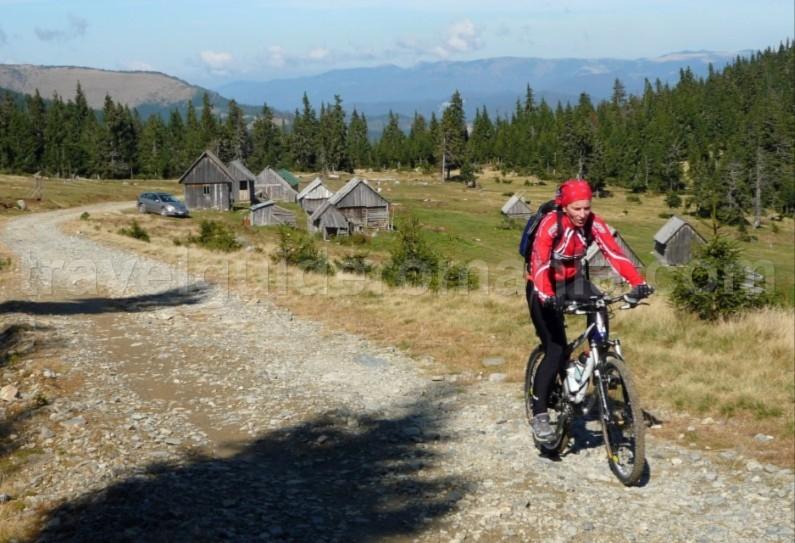 Mountain biking in Romania