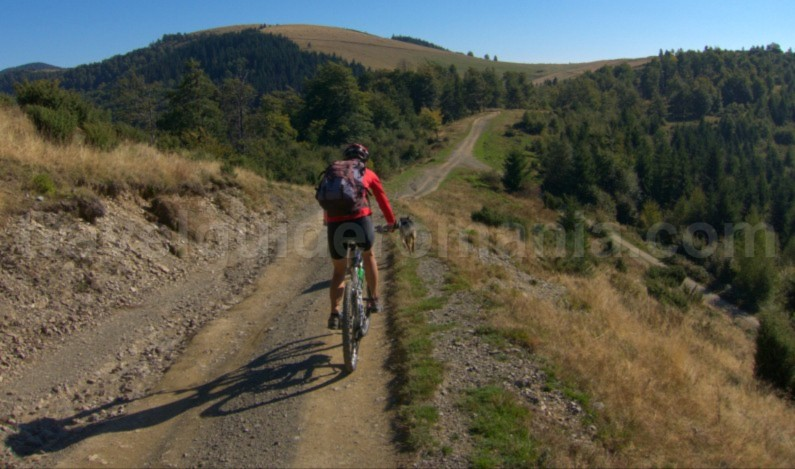 Mountain biking vacations Romania