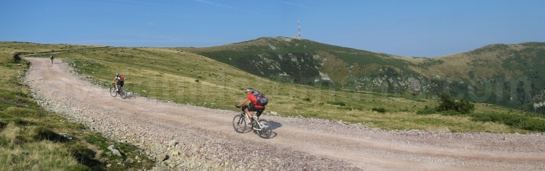 Biking in Apuseni Mountains