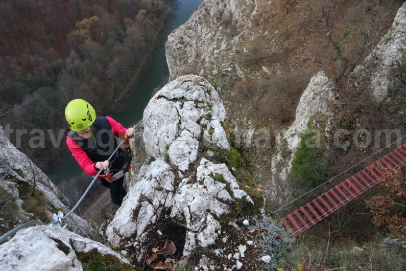 adventure travel companies Romania - via ferrata Apuseni