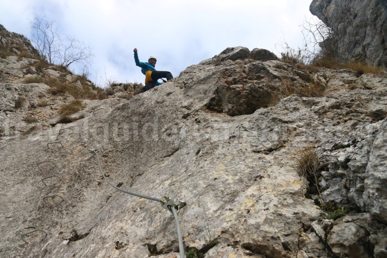mountain guide in Romania - via ferrata guided trips