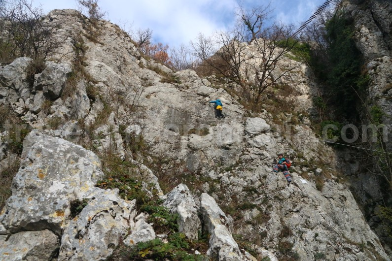 outdoor adventure romania - via ferrata guided trips