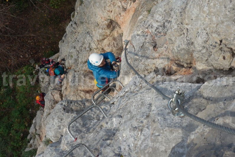 romania places to visit - via ferrata Vadu Crisului