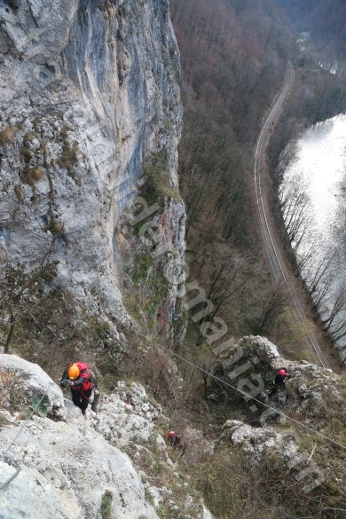 Extreme adventure Romania - via ferrata