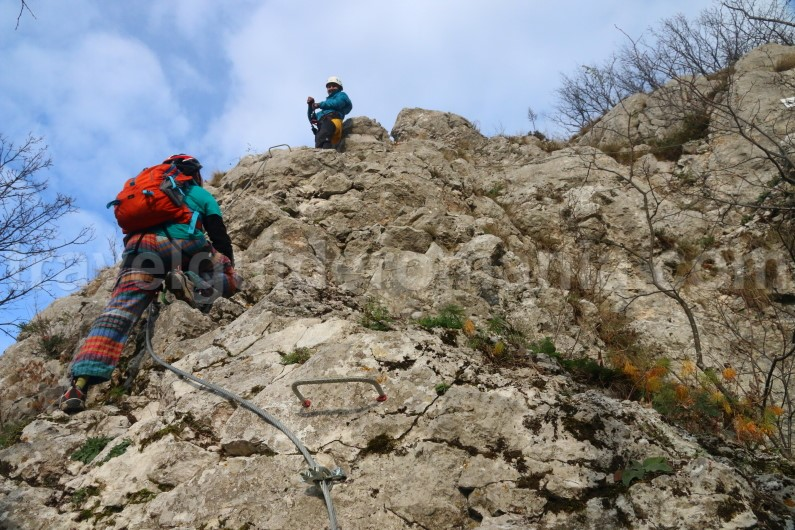 places to visit romania - Via ferrata Apuseni mountains