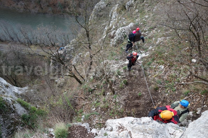 romania tourist attractions - Via ferrata Apuseni