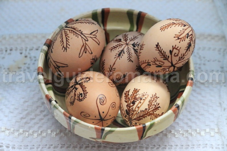 Decorated Easter Eggs - Romania