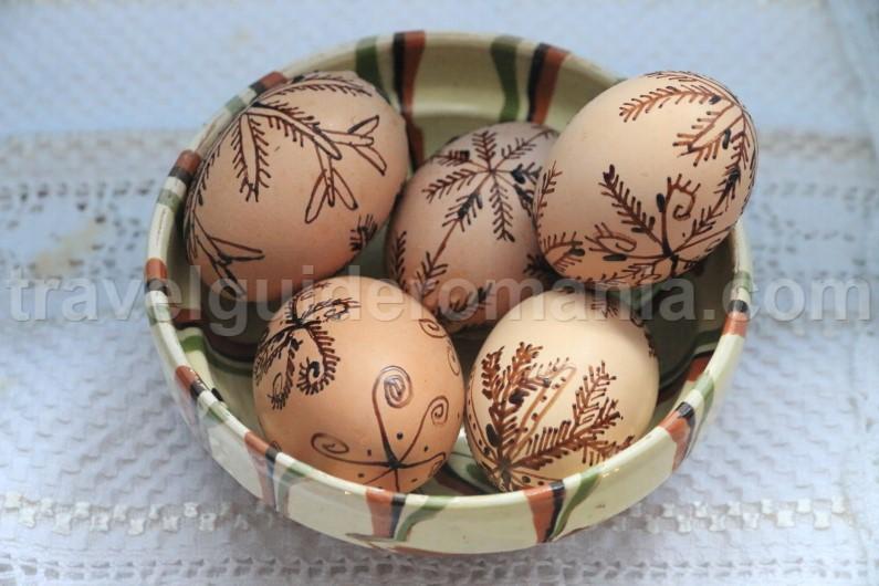 Decorated Easter Eggs - Romania