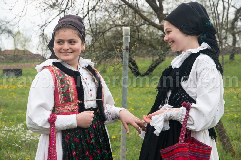 Traditional celebration in Romania