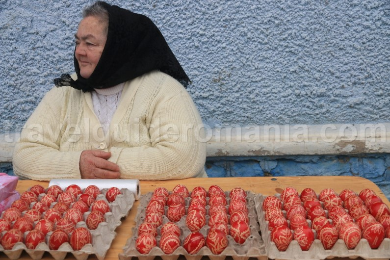 Romanian decorated eggs - Easter traditions