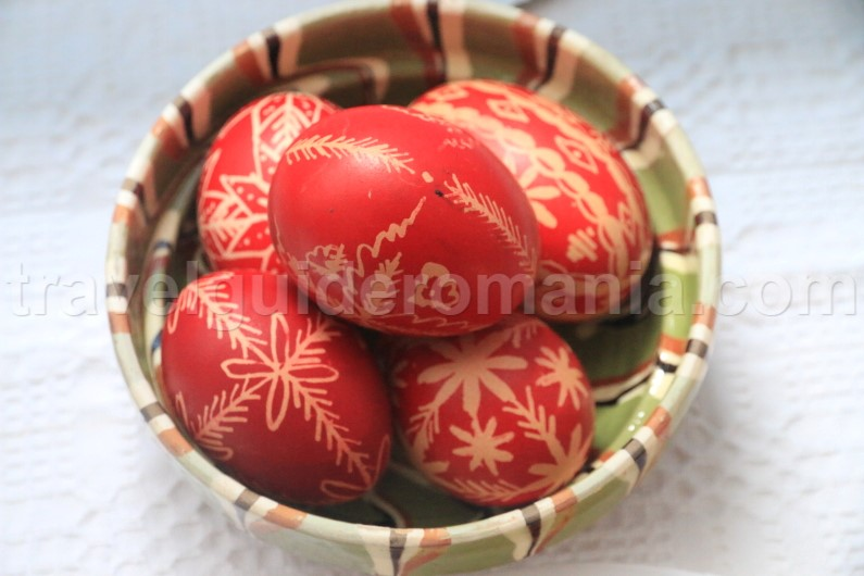 Traditional easter holidays in Romania