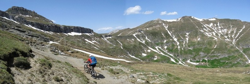 babele omu bucegi mountains mtb romania