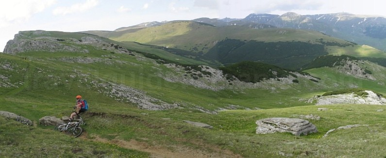 bucegi plateau batrana peak mountains mtb romania