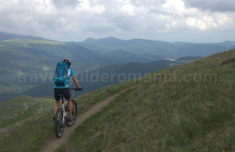 cycling bucegi mountains mtb romania