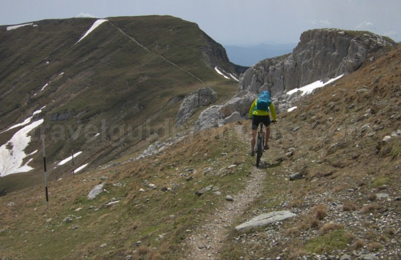 omu area bucegi mountains mtb romania