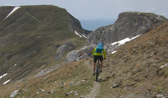 omu bucegi mountains cycling mtb romania