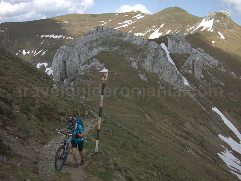 omu strunga push bike bucegi mountains mtb romania