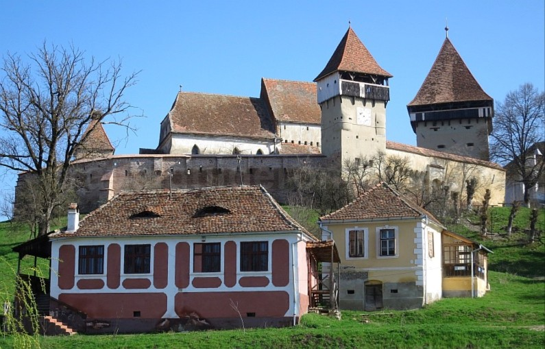 Saxon village with fortified church alma vii The Hills of Transylvania
