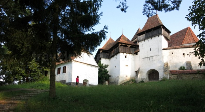Saxon village with fortified church viscri unesco The Hills of Transylvania