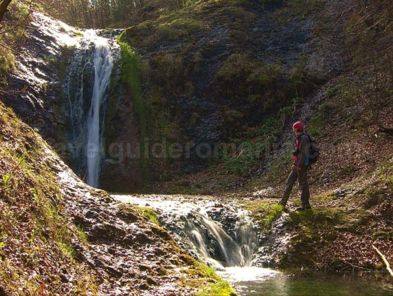 boiu waterfall Ponoara Padurea Craiului Apuseni