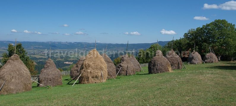 hay stacks Ponoara mtb Padurea Craiului Apuseni
