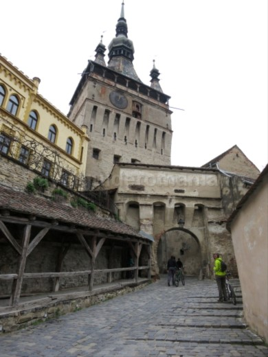 medieval citadel unesco sighisoara The Hills of Transylvania clock tower
